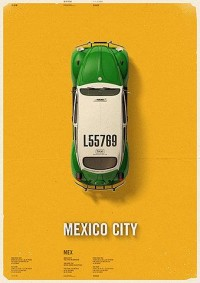 City Cab Poster by Mehmet Gozetlik | TrendLand -> Fashion Blog & Trend Magazine