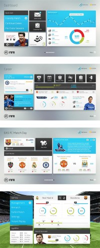 Fifa Interface Concept on