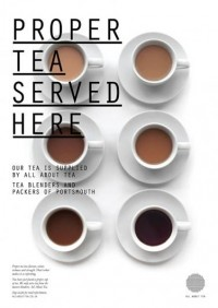 Fonts In Use – All About Tea — Designspiration