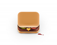 Food App Icons on