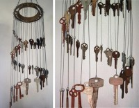 For the Home / Keys wind chimes...