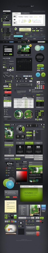 Futurico User Interface Pro on