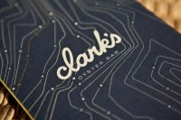 Graphic / Clark's Oyster Bar :: ATX — Designspiration