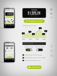 Greenlots Brand Identity and User Interface on