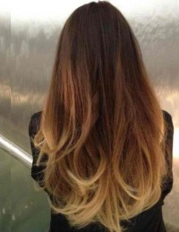 Hair & Make up / Colored Hair Ombré Tie and Dye