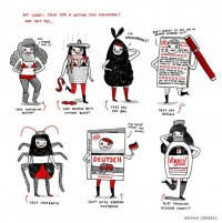 Halloween costumes by Gemma Correll   ??