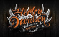 Harley Davidson Poster on