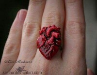 Heart ring | Adult Halloween