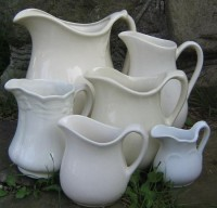 HOME~*All Things White and Beautiful* / LizlovesVintage Collection of Ironstone