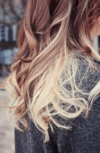 i need color. in my life / ombre