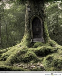 I THINK that I shall never see A poem lovely as a tree- Joyce Kilmer / This tree house is soooo amazing!!