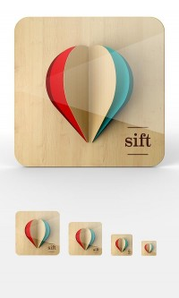 "Icon / iOS Icon Proposal Work by Omar Puig for ""sift"" app — Designspiration"