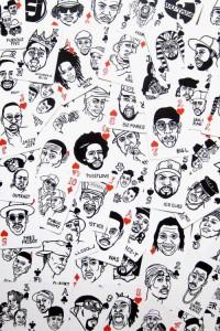 ILLUSTRATED PORTRAITS / Hip Hop — Designspiration