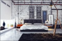 +Industrial Bedroom+ on