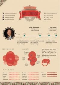 Infographic CV on