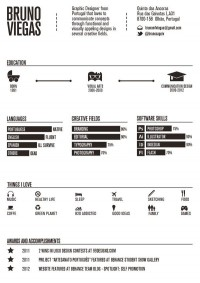 Infographics / http://www.brunoviegas.com/69150/about-me — Designspiration