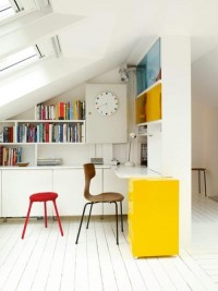 Interior design / Decorating Ideas: 12 White Rooms with Pops of Color Photo — Designspiration