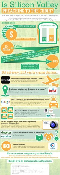 Is Silicon Valley Preaching to the Choir? | Business Infographics