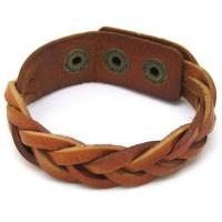 Jewelry Box / braided leather bracelet