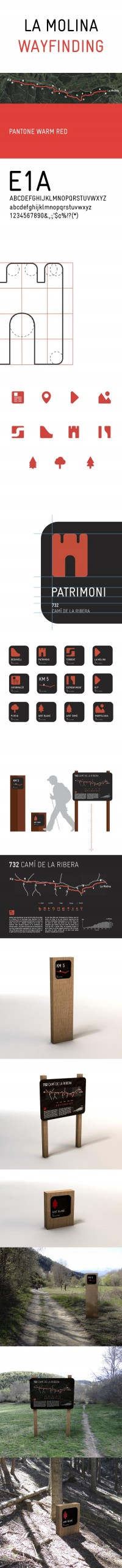 La Molina Wayfinding on