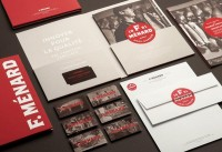 Letterheads / F. Ménard designed by lg2 boutique — Designspiration