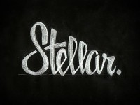 Lettering/Script / Stellar. by Zack Smith