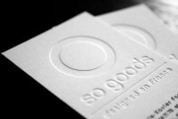 LETTERPRESS / Letterpress business cards — Designspiration
