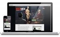 MADMEN / Landing Page on
