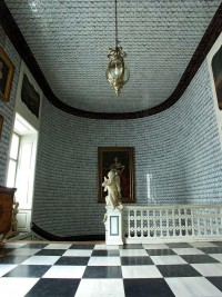main staircase with Dutch tiles, Nieborów Palace, ... | Interior Desi…