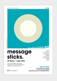 Message Sticks 2012 on