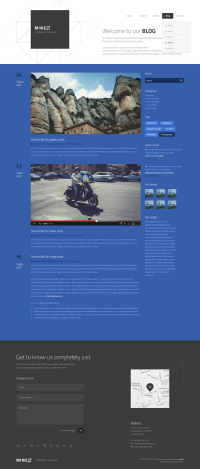 MINETT | Modern template on