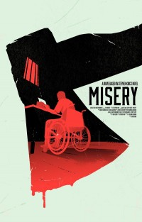 Misery Movie Poster on