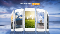 Morning Rain - iOS Weather App on