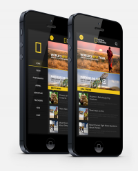 National Geographic iphone App. on