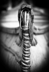 Native American / Bark Canoe by Tom Whitney Photography, via Flickr
