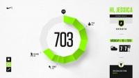 Nike Fuel Design Exploration on