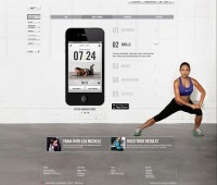 Nike Training Club Website on
