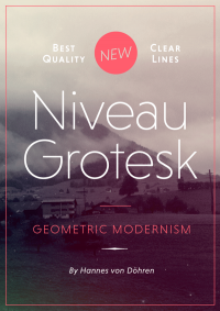 Niveau Grotesk (Typefamily) on