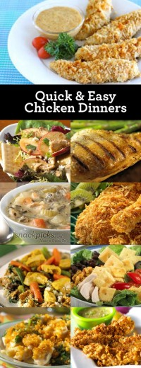 Nom nom nom / 9 Easy Chicken Dinner Recipes