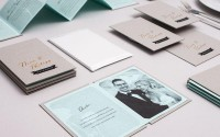 N&P wedding invitation on