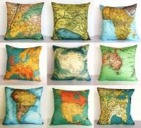 O mundo todo no seu sofá. | Mapas
