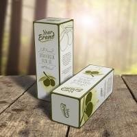 Olive Oil or Wine Box Mock-Up on