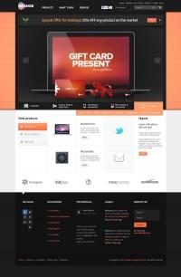 Orange - eCommerce Multipurpose PSD Template on