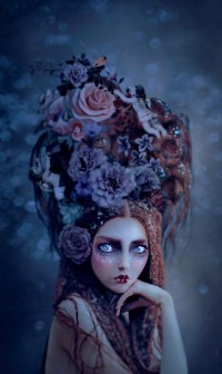 P For Purple / Felix Inclusis (darksilenceinsuburbia: Natalie Shau.)