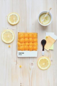 Pantone Finds / Delicious Pantone Swatch Tarts — Designspiration