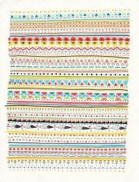 Pattern No.2 Art Print by Sandra Dieckmann Illustration   Society6 — Designspiration
