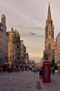 Photography | Visual Inspiration / The Royal Mile in Edinburgh, Scotland.