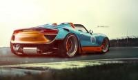 Porsche 918 gone wild on