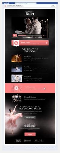 QLD Ballet, 2013 Site web Saison sur