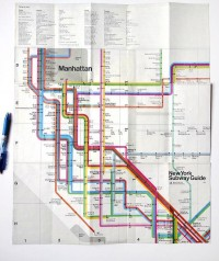 Randoms / New York Subway Map — Designspiration